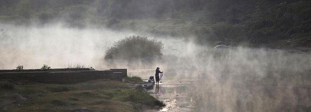 Talakaveri, the origin of the Cauvery river, is way too still. Photo: Abhishek N. Chinnappa