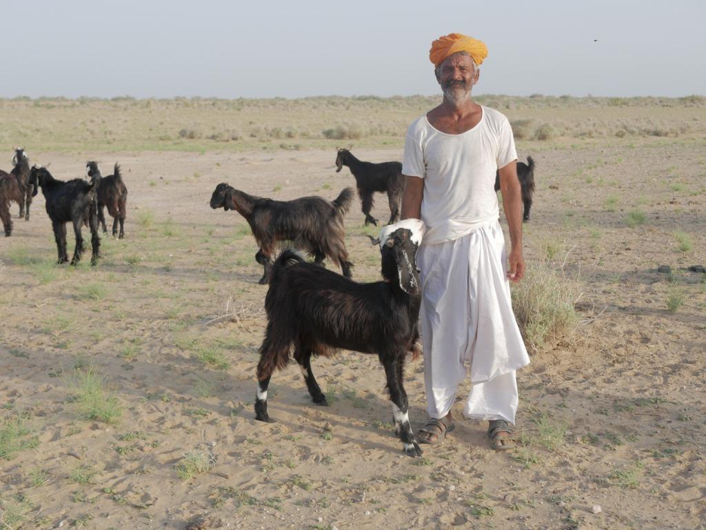 Lal Singh, an animal keeper in Rajasthan. Photo: Arnab Pratim Dutta