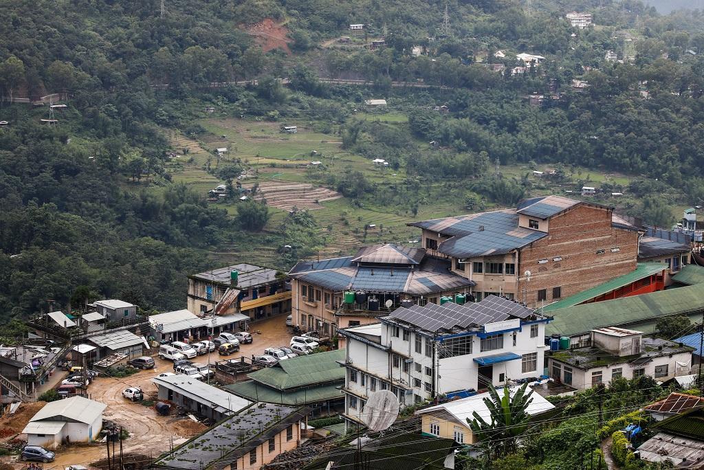 नागालैंड भी उन राज्यों में शामिल हैं, जहां मरुस्थलीकरण की स्थिति 50 फीसदी से अधिक है। फोटो: विकास चौधरी