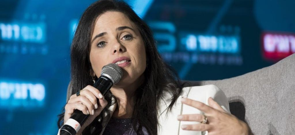 Ayelet Shaked, leader of the right wing Yamina alliance. Photo: Abir Sultan/EPA