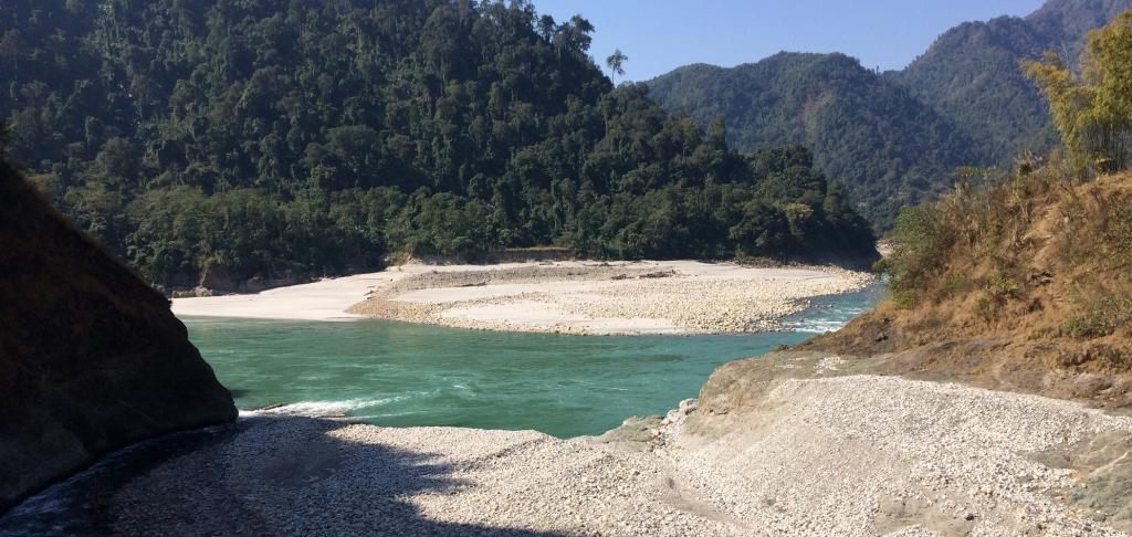 The East Siang river in Arunachal Pradesh. Photo: Wikimedia Commons