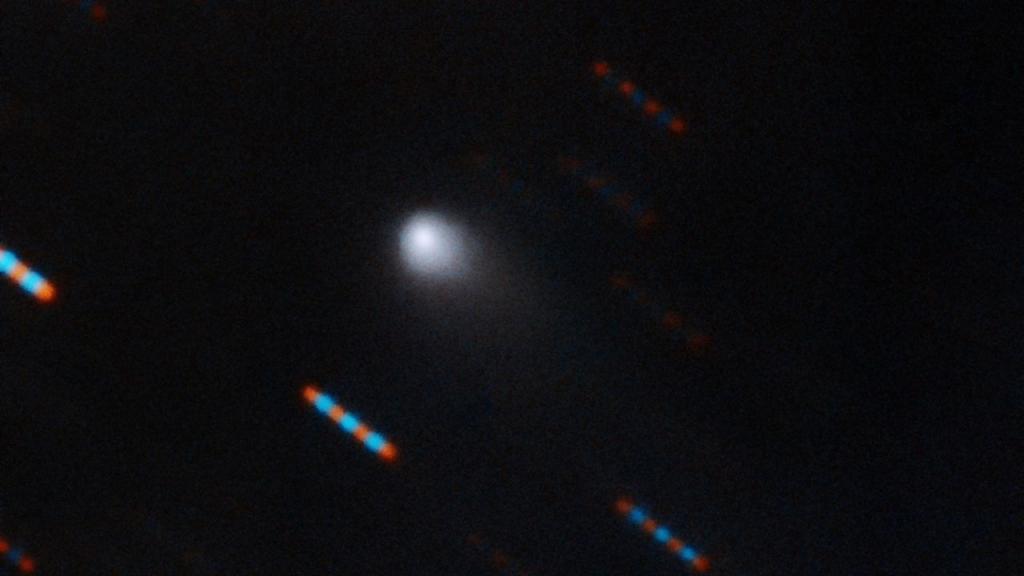 New comet named C/2019 Q4. Photo: Gemini Observatory/NSF/AURA