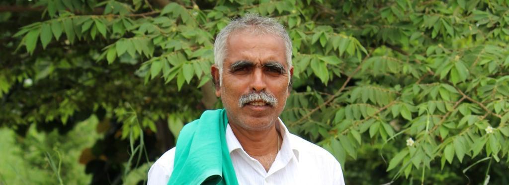 Honnur Prakash, district president of farmers' organisation Karnataka Rajya Raitha Sangha