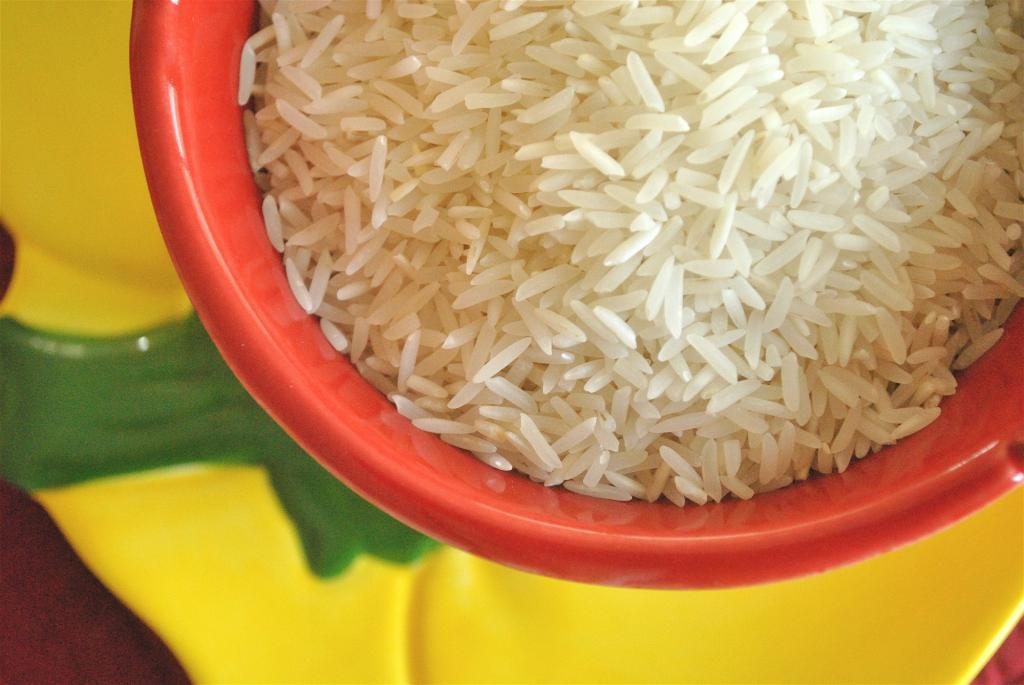 Long grained Basmati rice. Photo: Wikimedia Commons