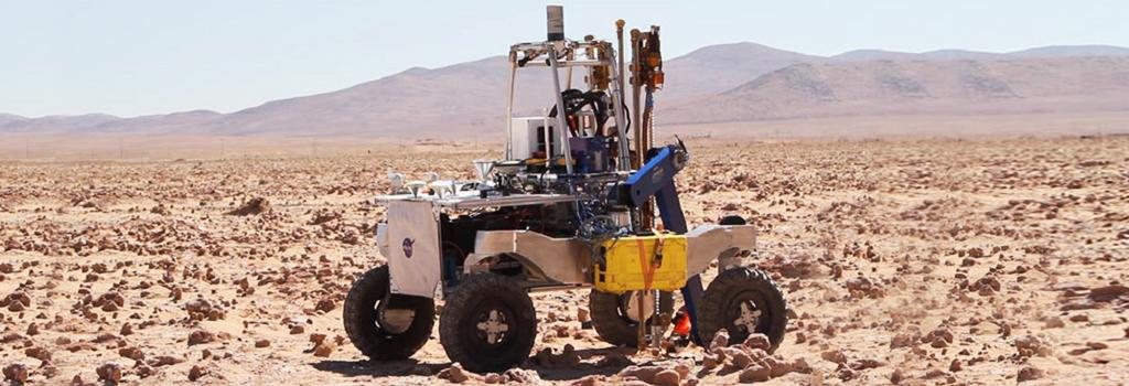 The ARADS rover in Chile's Atacama Desert. Photo: NASA/Campoalto/Victor Robles