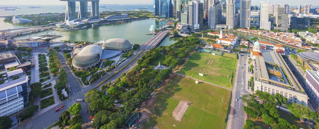 Singapore has more than 50% space. Photo: Getty Images