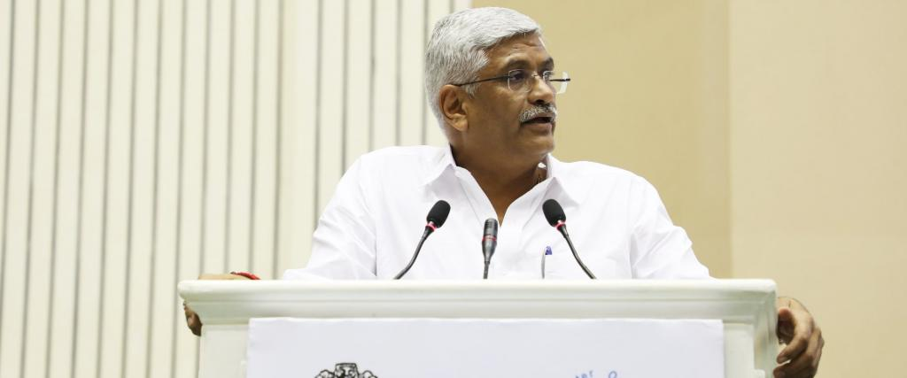People must also think about multiple use of the same water too, said Union Minister for Jal Shakti Gajdendra Singh Shekhawat. Photo: Twitter