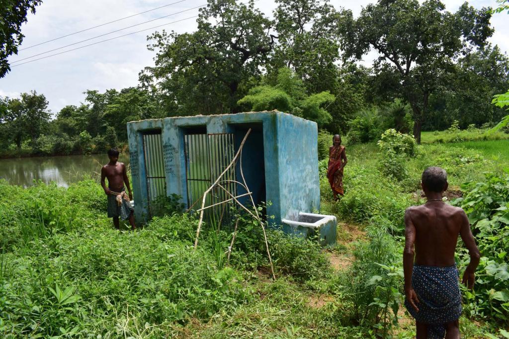 Toilets in Balangir, Odisha. Photo: Priya Ranjan Sahu