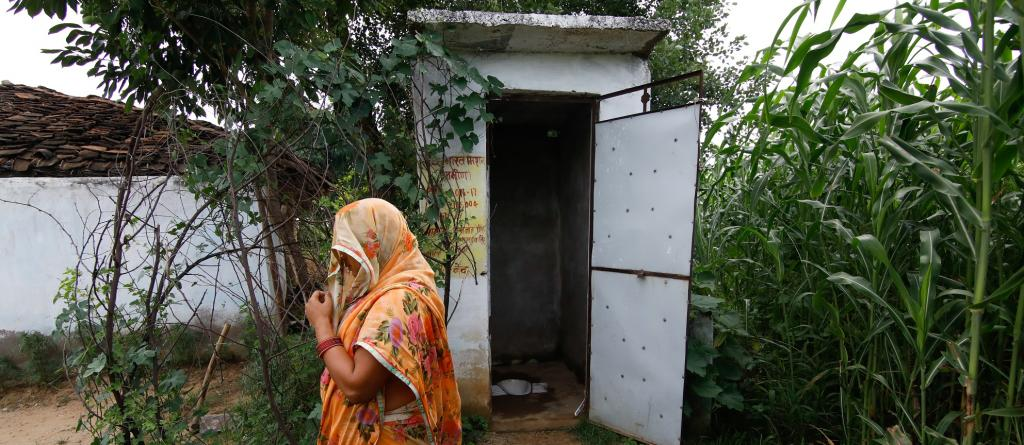 Swachh Bharat Mission, a rural sanitation programme that combined political priority with resources. Photo: Vikas Choudhary