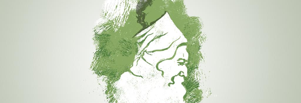Gandhi and Rabindranath understood that freedom is spiritual and ecological potential of humanity. Illustration: Tarique Aziz