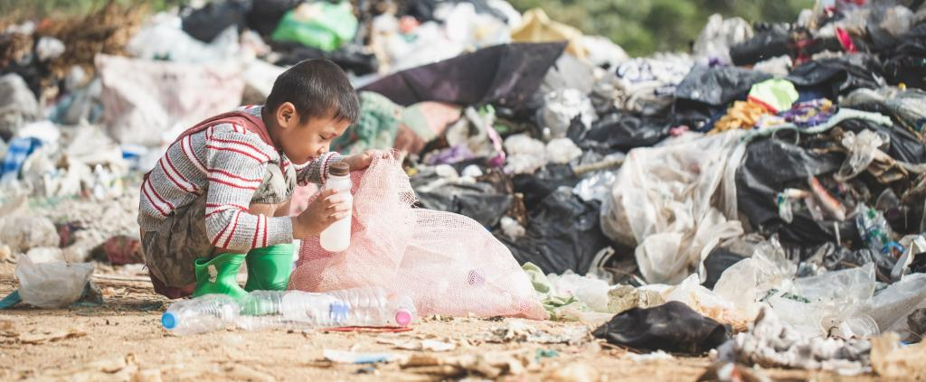 Plastic waste has become a mainstay for the humblest waste pickers. Photo: Getty Images