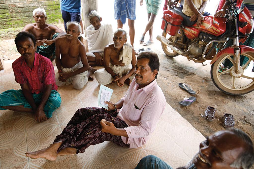 Balram Pradhan  of Bhoipali village has been suffering from liver cancer since July 2015