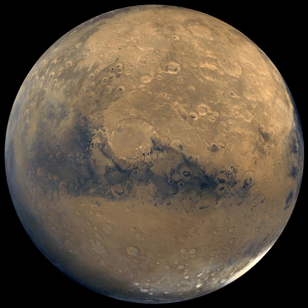 Mars. Photo: Nasa/JPL