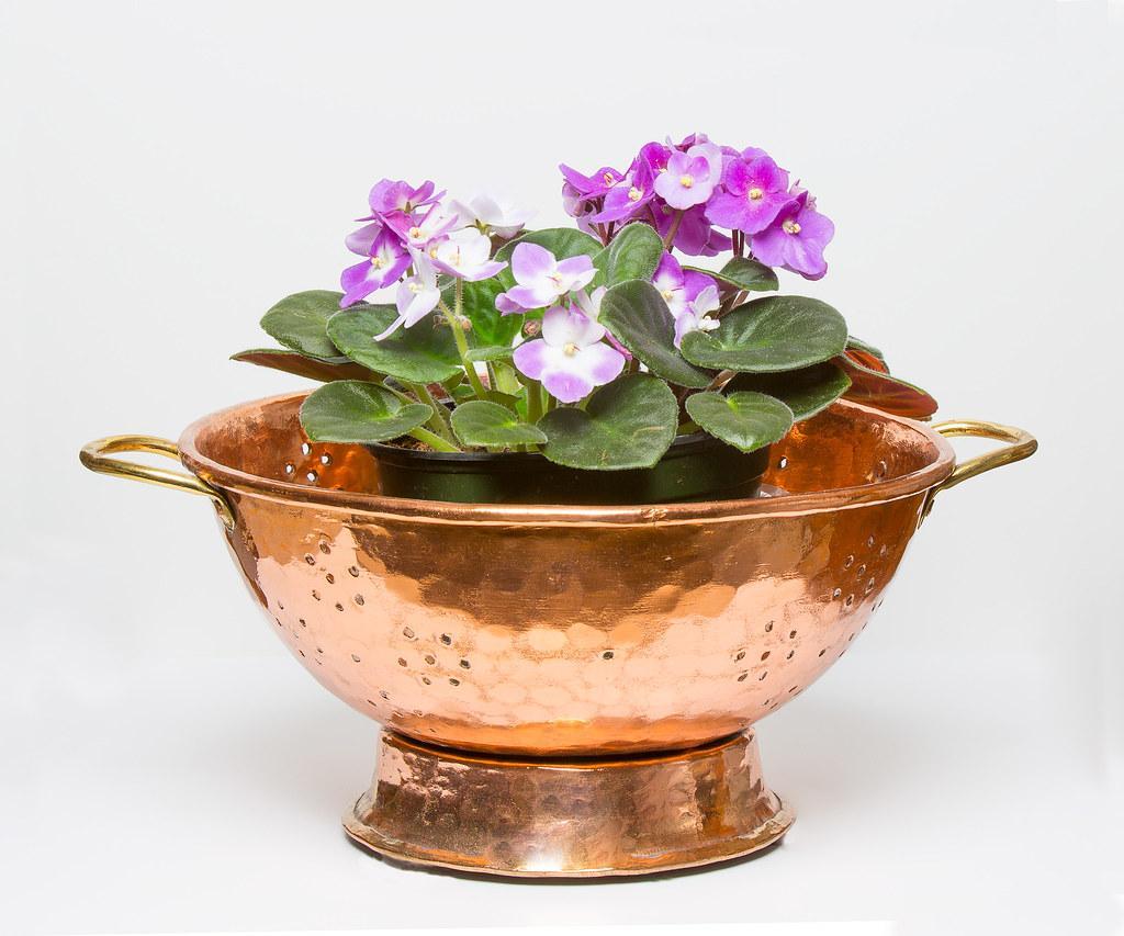 A copper vessel