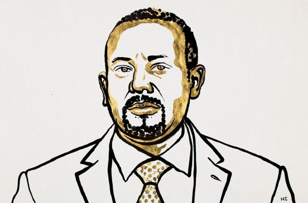 नोबेल शांति पुरस्कार 2019 इथोपिया के प्रधानमंत्री अबी अहमद अली को दिया गया है। फोटो: Nobleprize