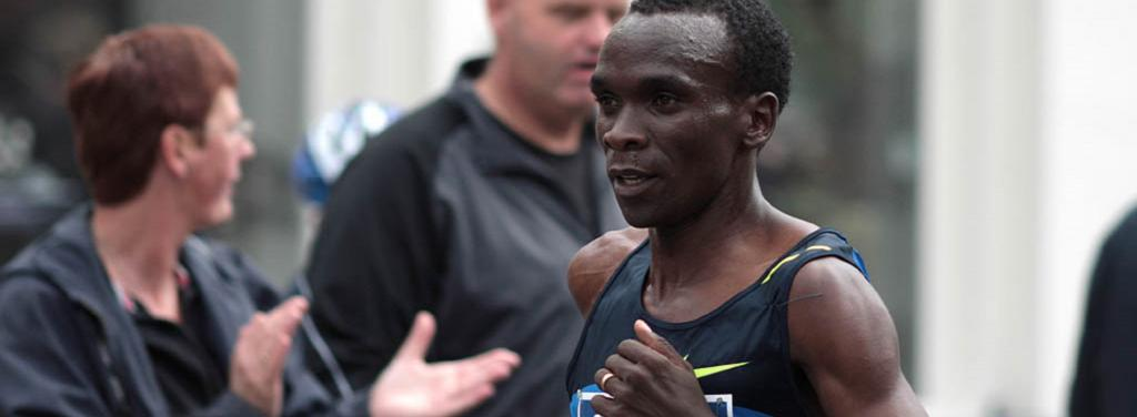 Eliud Kipchoge. Photo: Wikimedia Commons