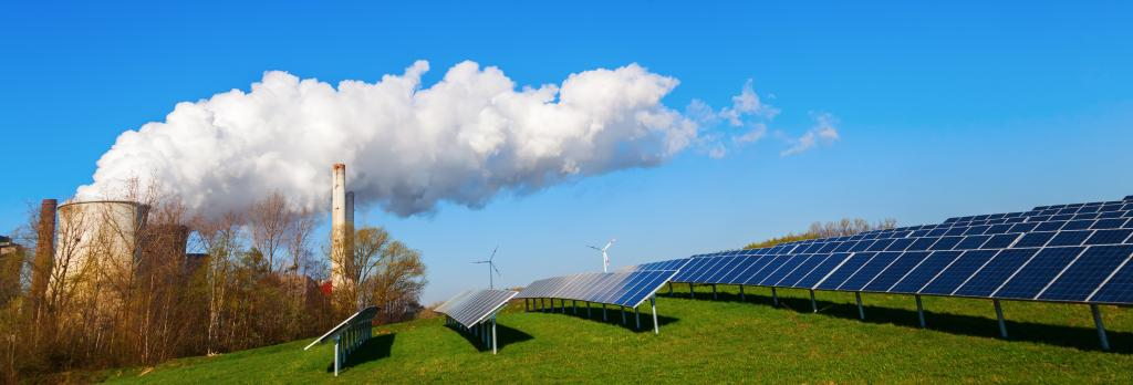 Coal power vs renewable energy