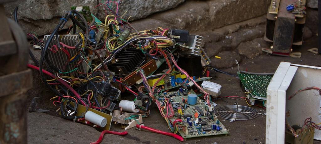 E-waste. Photo: Wikipedia