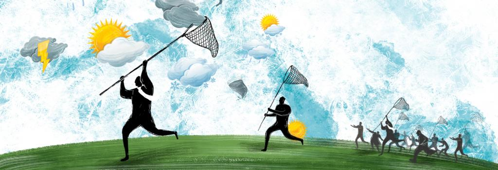 Weather business. Illustration: Ritika Bohra