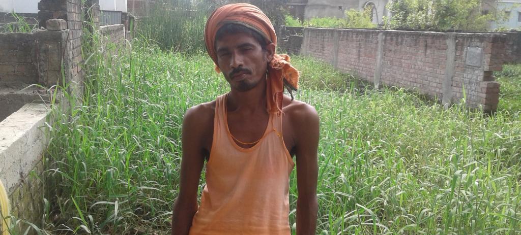Farmer Bijendra Prasad. Photo: Mohd Imran Khan