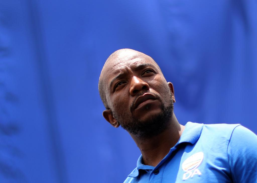 Mmusi Maimane, former leader of South Africa's main opposition party, the Democratic Alliance. Photo: Kim Ludbrook/EPA-EFE