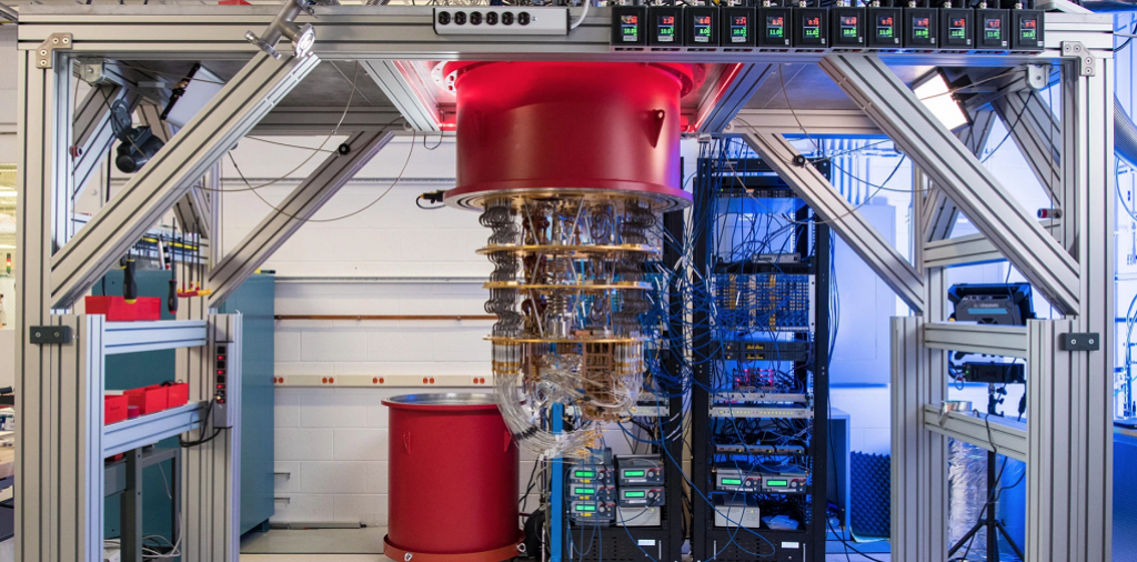 Quantum computers. Photo: Google