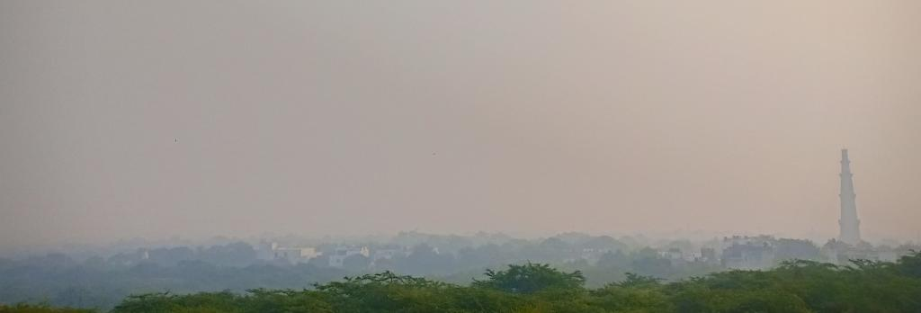 Delhi after Diwali on October 28. Photo: Joyjeet Das