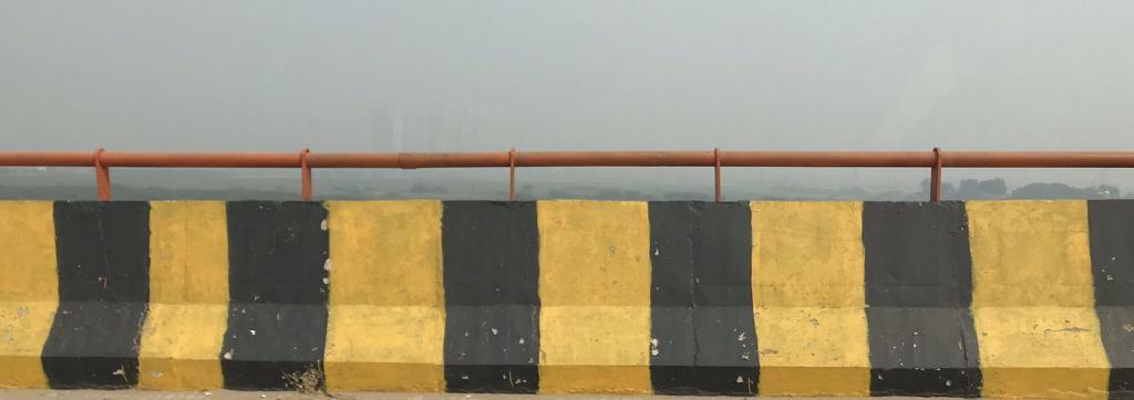 Delhi smog. Photo: @PriyaKodidala/Twitter