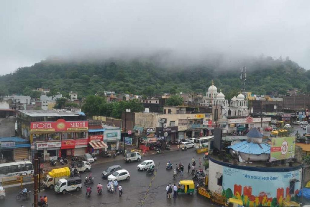 मध्य प्रदेश का देवास शहर, जहां उत्तर व मध्य भारत में प्रदूषण नहीं हुआ। फाइल फोटो