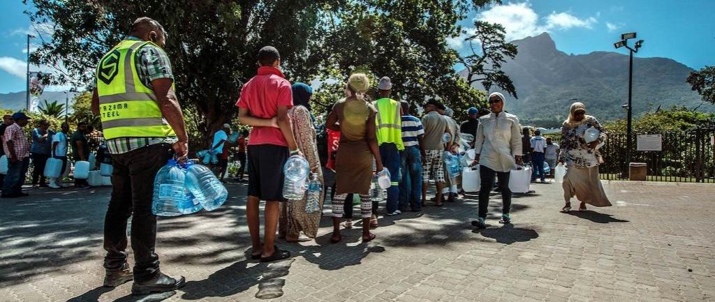 Water crisis in Cape Town. Photo: Getty Images