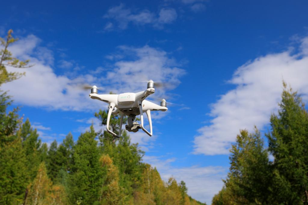 Drones are increasingly used to gather information and inform research. As technology develops longer-lasting batteries and more sensitive cameras, the role of drones in research will continue to grow. Photo: Shutterstock
