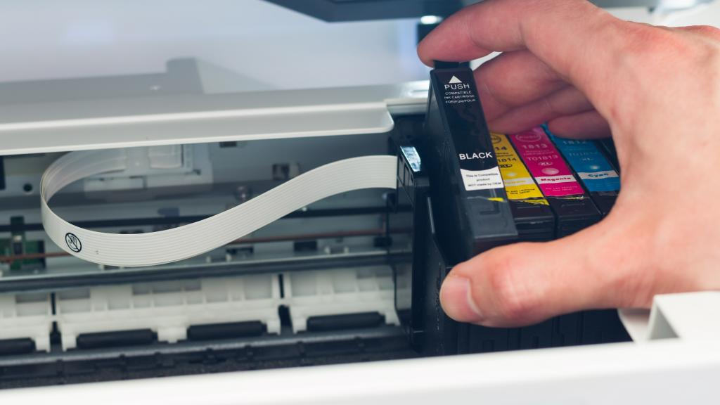 A printer cartridge. Photo: Getty Images