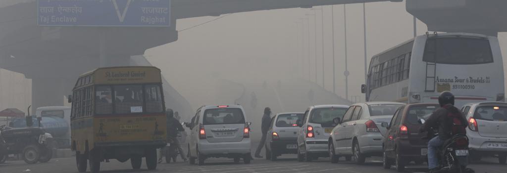 Delhi air pollution. Photo: Vikas Choudhary