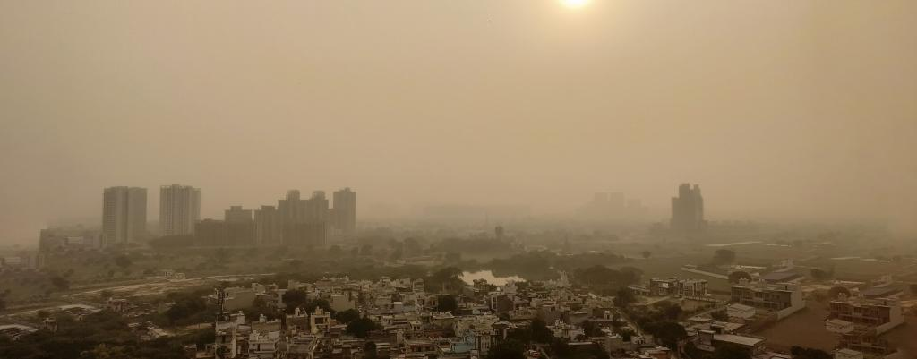 Delhi NCR air pollution. Photo: Getty Images