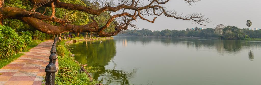 Rabindra Sarobar, Kolkata. Photo: Getty Images