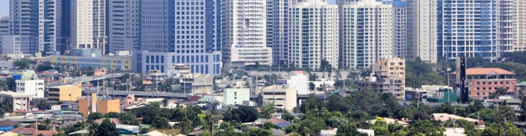 The skyline of Fort Bonifacio, the Philippines. Photo: Getty Images