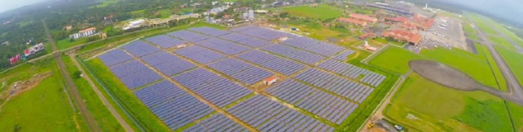 Cochin Airport: Powered by the sun