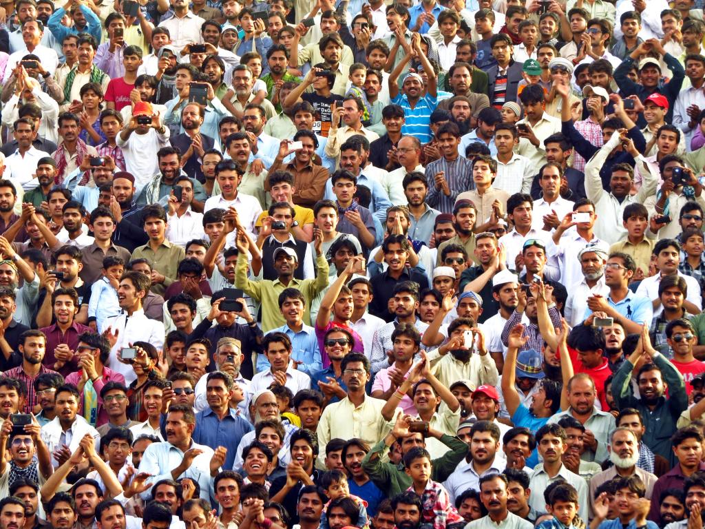India population. Photo: Getty Images