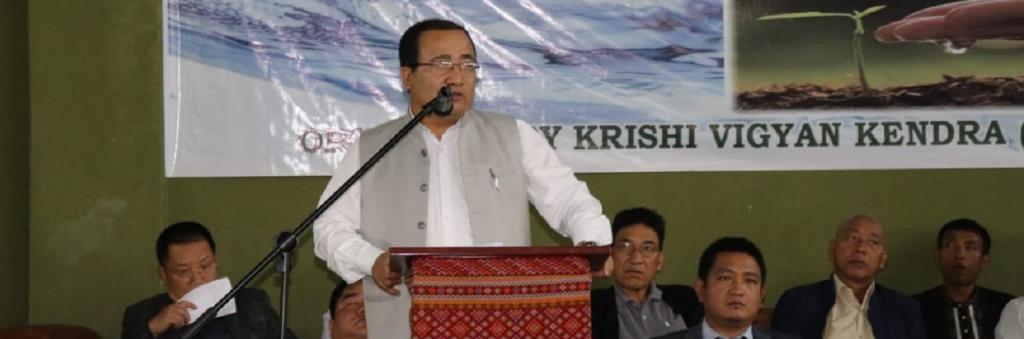 K Beichhua, Minister of State at Mizoram's social welfare. Photo:  department@airnews_aizawl / Twitter