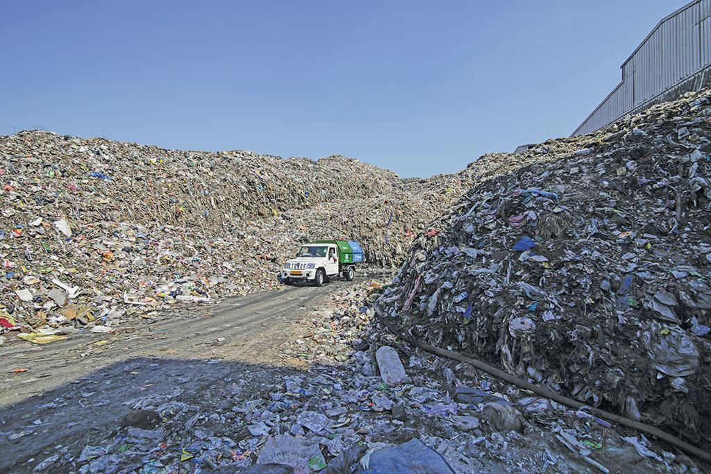 Making a landfill
