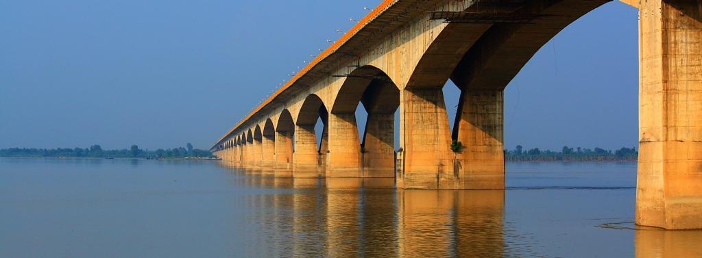 The Gandhi Setu over the Ganga in Patna. Photo: Wikimedia Commons