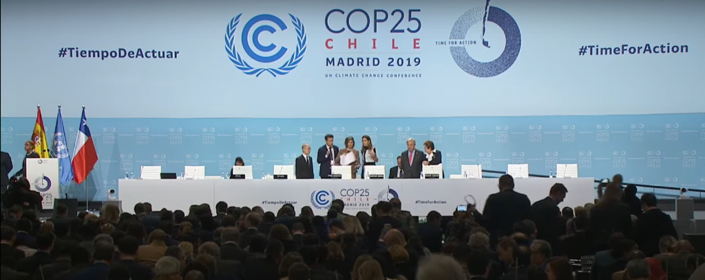 CoP 25 opening ceremony. Photo: UNFCCC