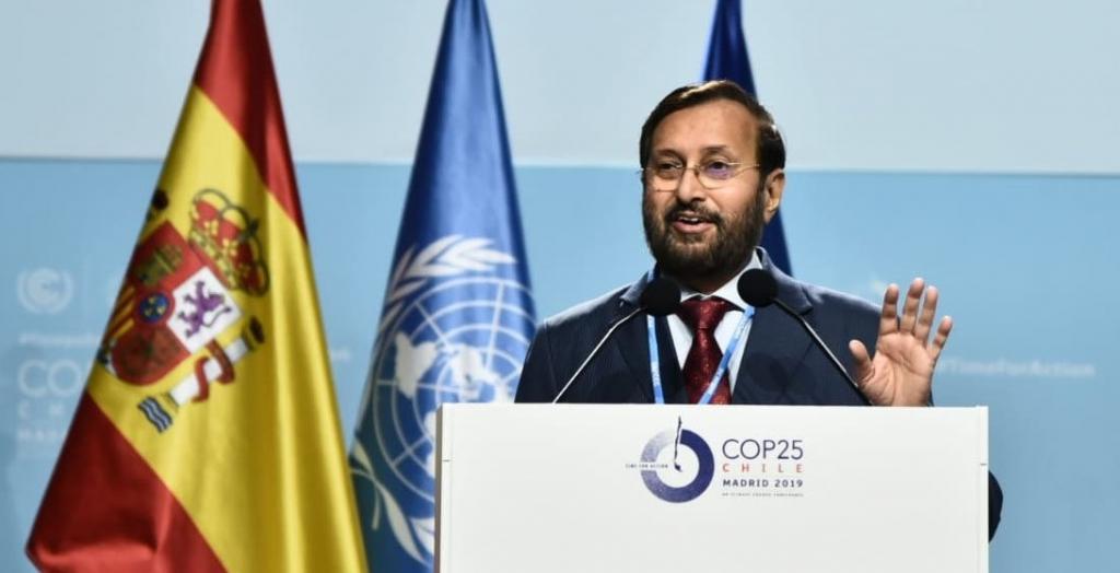 Javadekar trumpets govt's achievements at Madrid