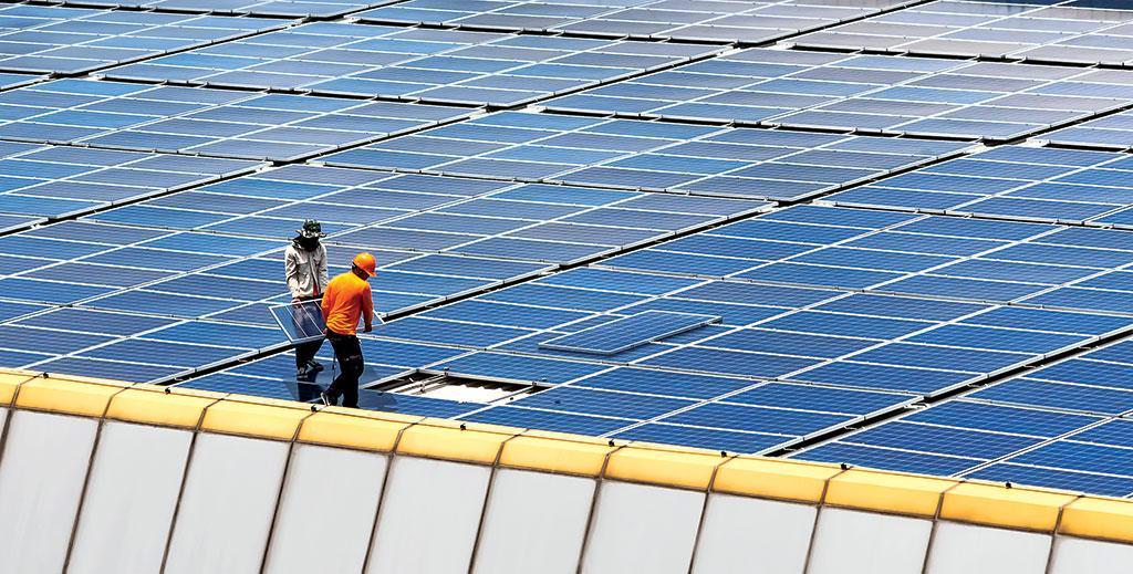 solar power sector