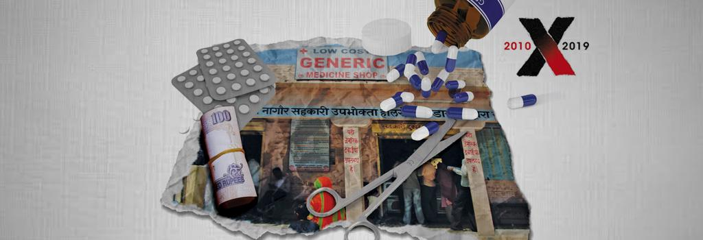 Generic drugs. Illustration: Ritika Bohra
