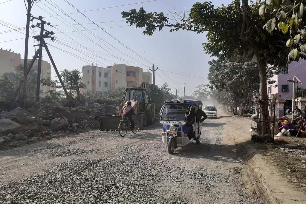 बिहार की राजधानी पटना में साल में एक दिन भी हवा की गुणवत्ता अच्छी नहीं रही। फोटो: पुष्यमित्र