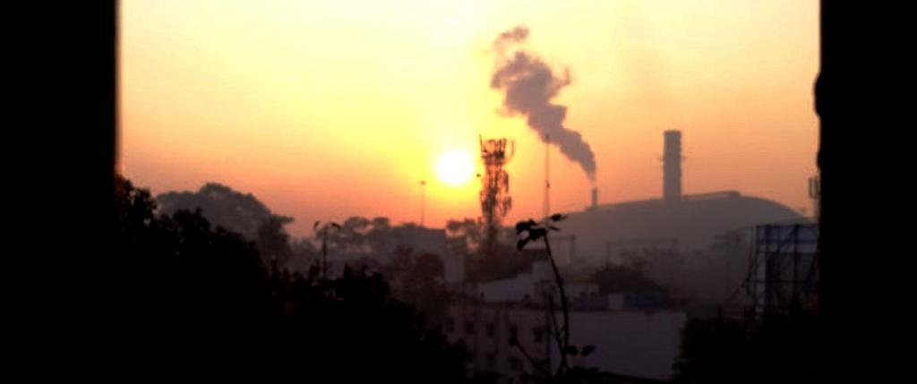 Air pollution, Photo: Joyjeet Das