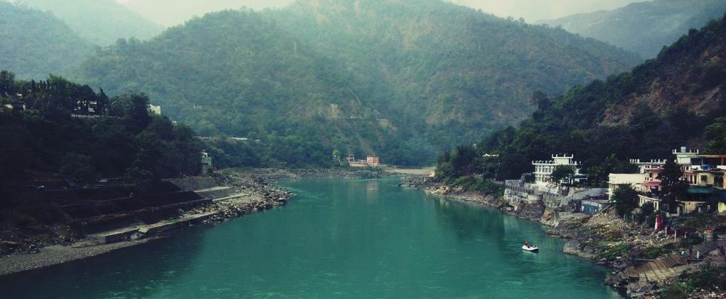 The Ganga at Rishikesh, Uttarakhand. Photo: Wikimedia Commons