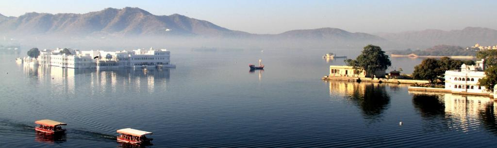 Lake Pichola in Udaipur. Photo: Wikimedia Commons
