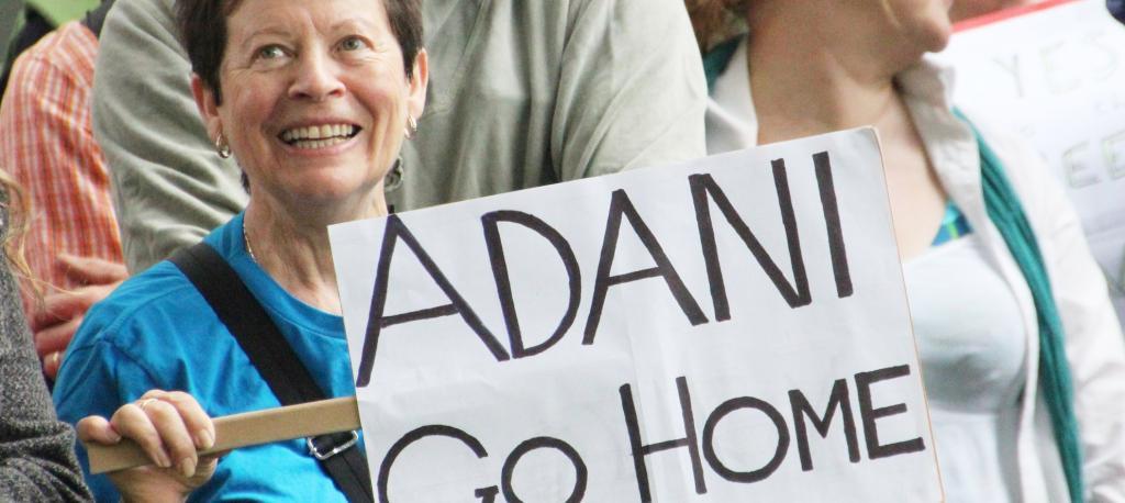 An anti-Adani protest in Australia. Photo: Flickr